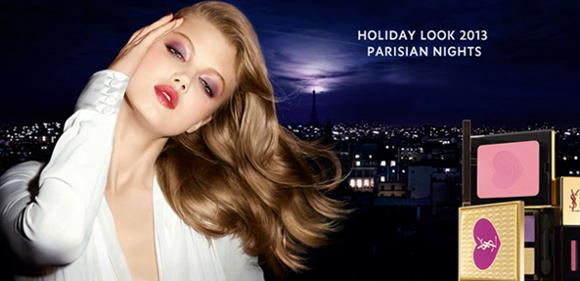 ysl parisian night collezione natale 2013 01