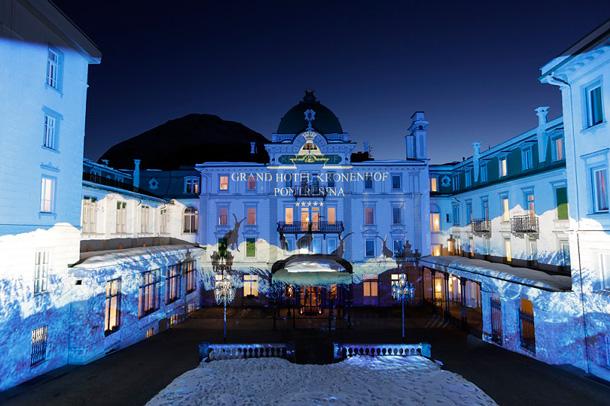 Sotto l'albero il Gourmet Festival a St. Moritz