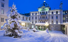 GHK Hotel Entrance Winter lusso