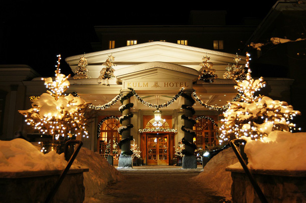 Kulm-Hotel-Entrance-Winter
