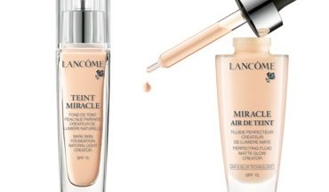 Lancome Miracle Air De Teint e Teint Miracle