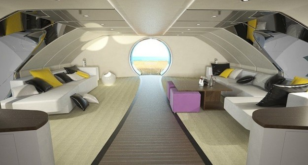 Sottomarini l 39 ultima frontiera del lusso for Interni lusso