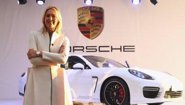 Porsche Panamera GTS Maria Sharapova
