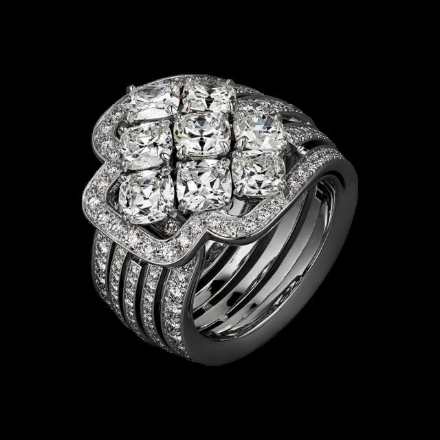 anello cartier con diamanti