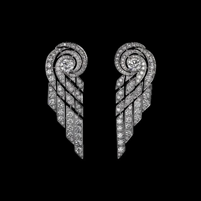 orecchini cartier diamanti platino