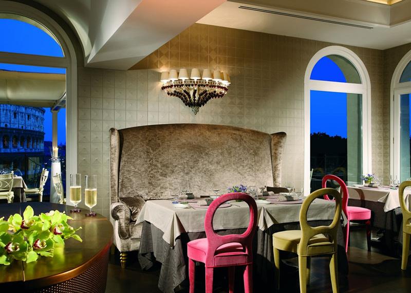 I 5 ristoranti di lusso italiani pi famosi for Design interni famosi