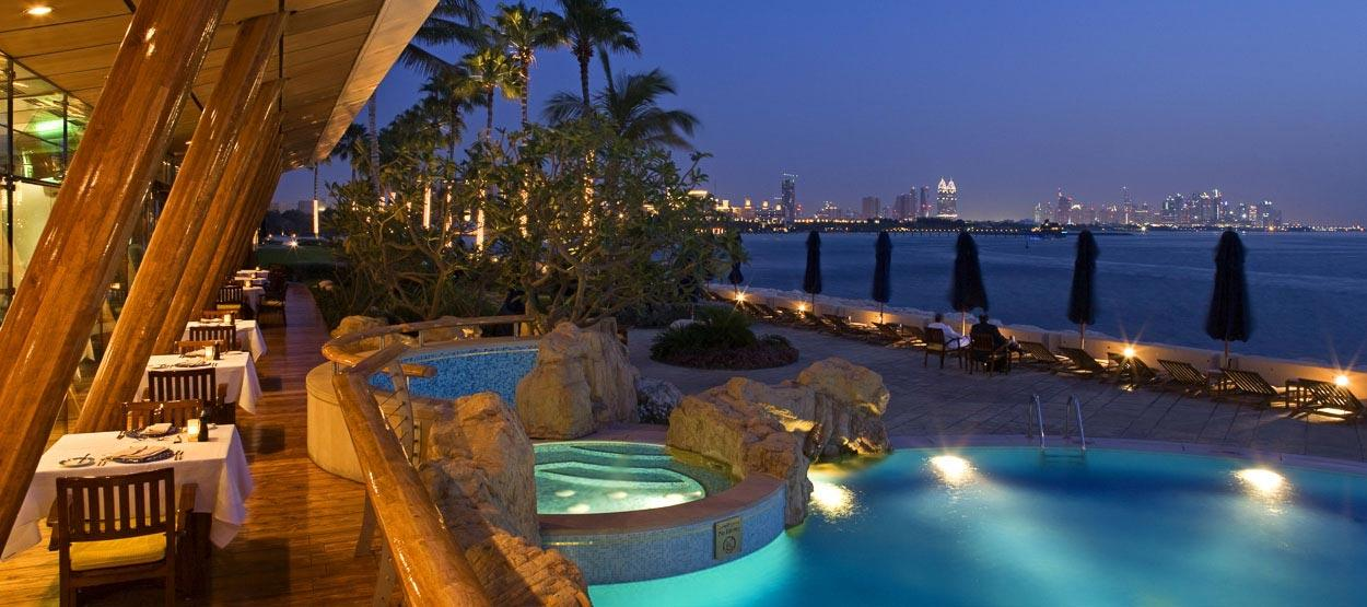 burj-al-arab-resort di lusso a Dubai