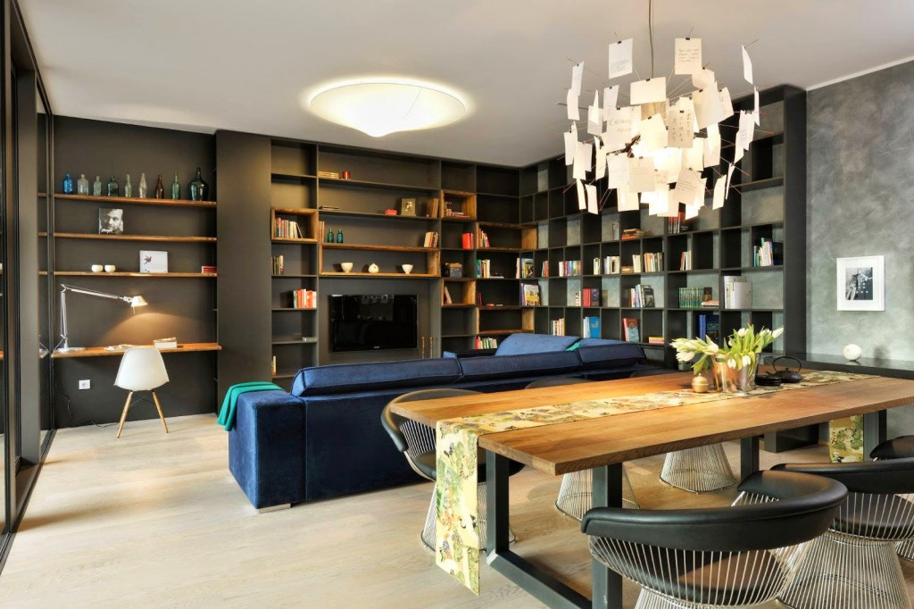 Interior design modern study area interior design ideas interior - Come Arredare Casa In 7 Consigli Urban Style