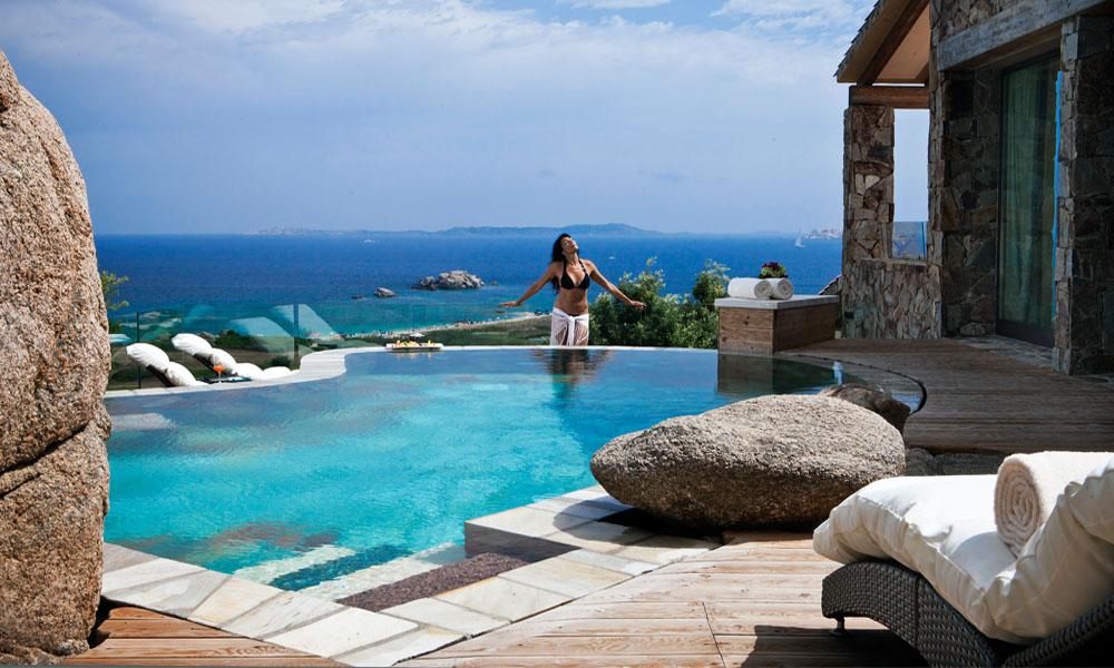 Hotel da sogno: stanze con piscina privata