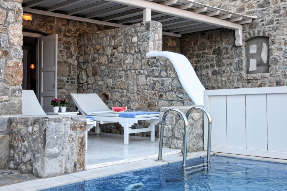 Palladium- stanze con piscina privata