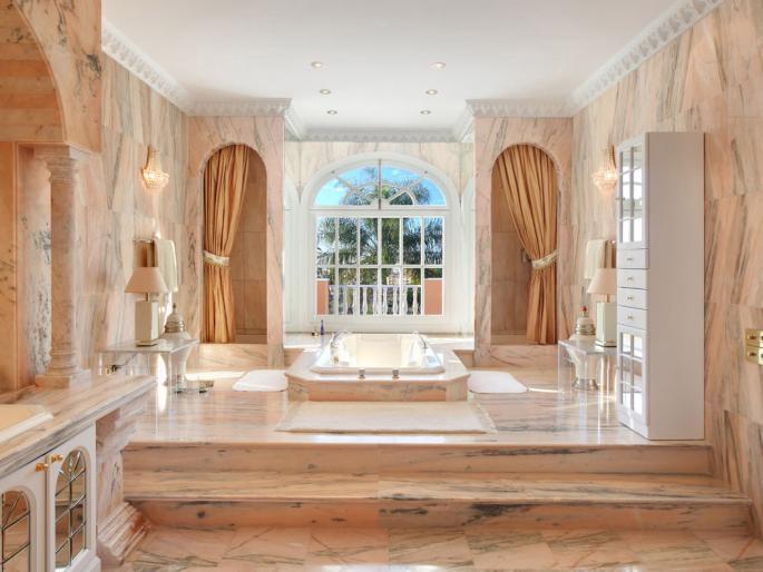 bagni di lusso moderni
