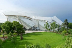 La Fondazione Louis Vuitton a Parigi (Foto: www.fondationlouisvuitton.fr)