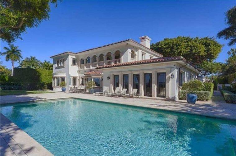 Villa con piscina di Ricky Martin