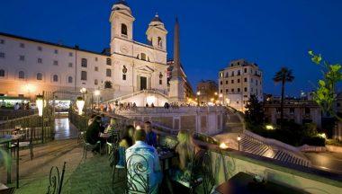 Vini Piazza Di Spagna Al Palazzetto Di Sera