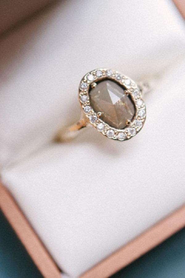 Molto L'anello di fidanzamento? D'ispirazione vintage! ZV42