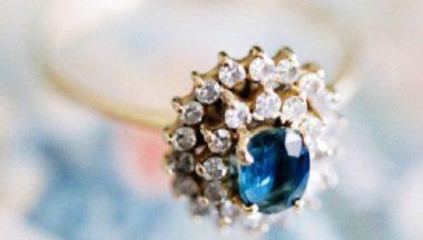 anello di fidanzamento d'ispirazione vintage