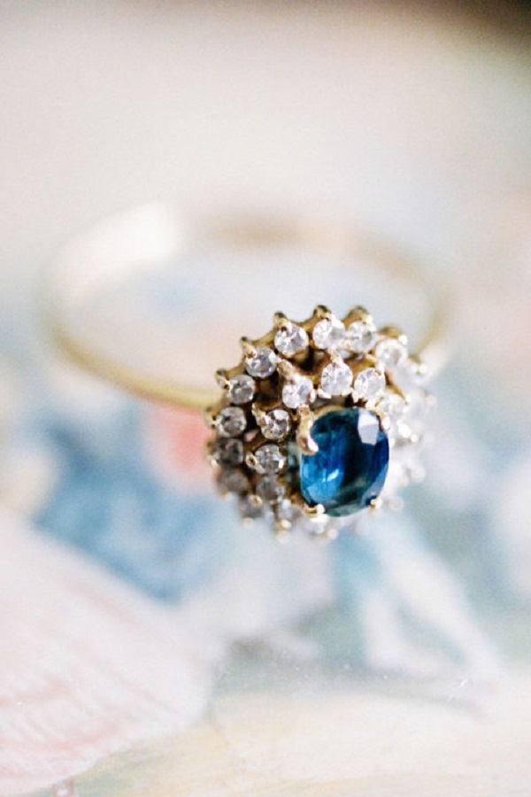 Ruby Or Sapphire Engagment Ring
