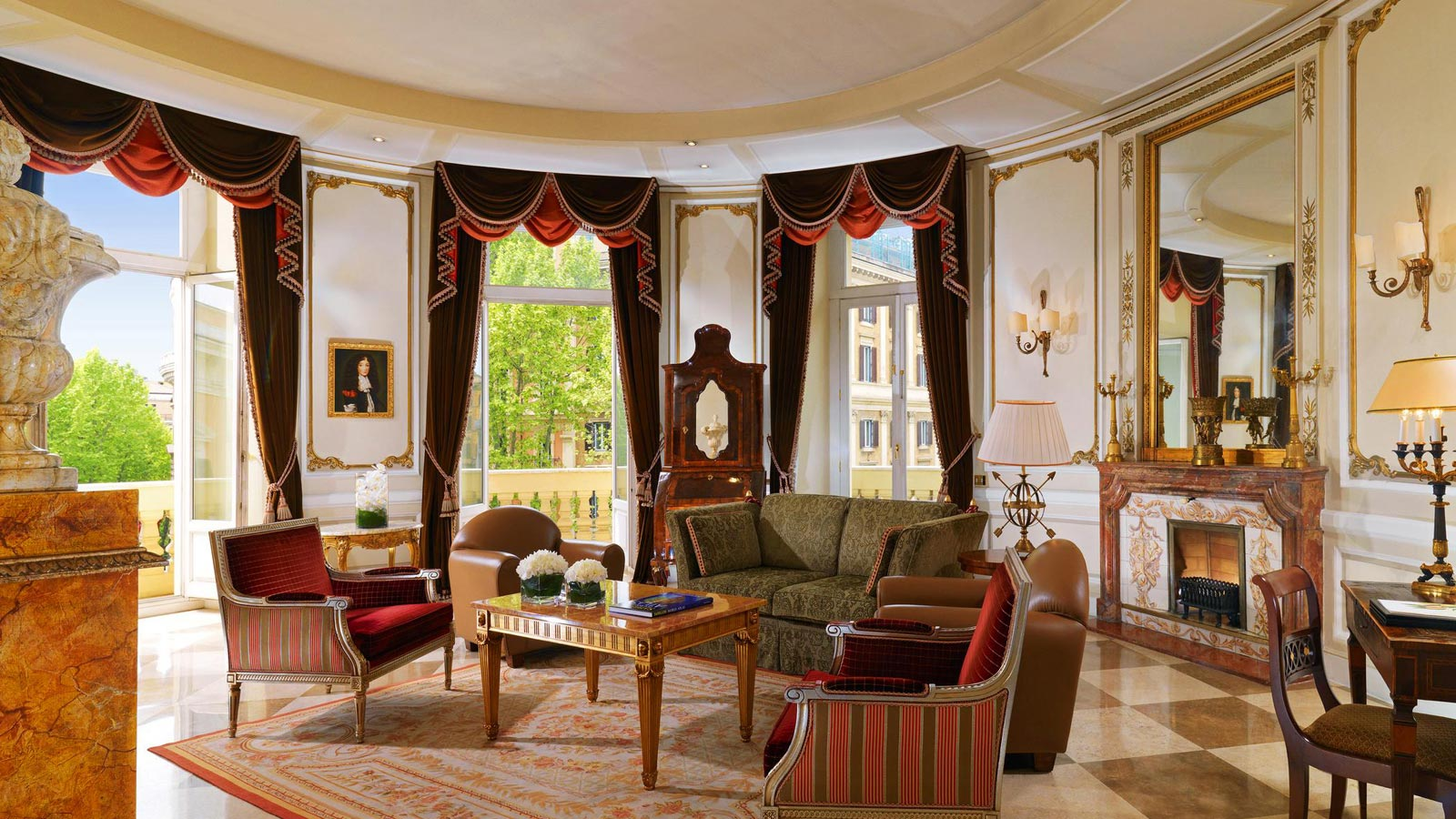 Via_Veneto_Suite  hotel dei vip italiani