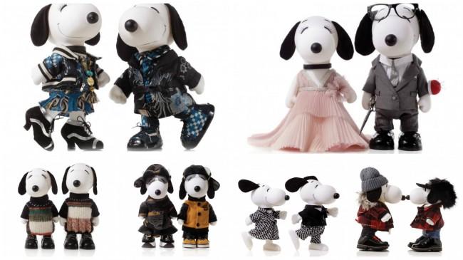 Snoopy e Belle in Fashion