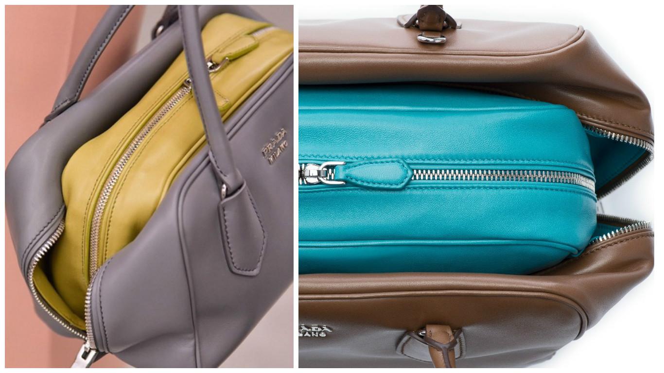 Inside bag Prada, la borsa nella borsa