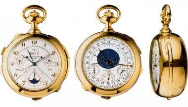 orologio da taschino costoso