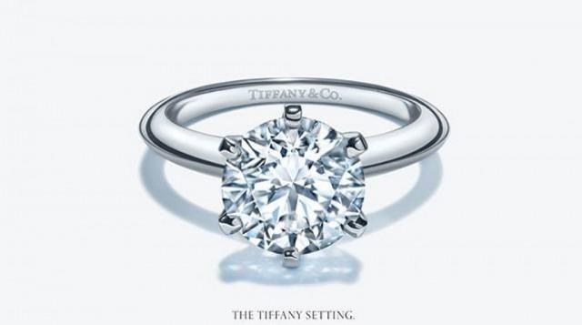 Solitario Tiffany