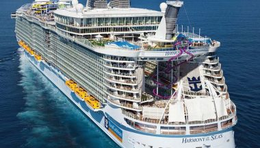 La nave da crociera più grande al mondo: Harmony of the Seas
