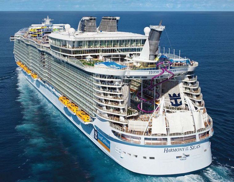 la nave più grande al mondo - Harmony of the Seas