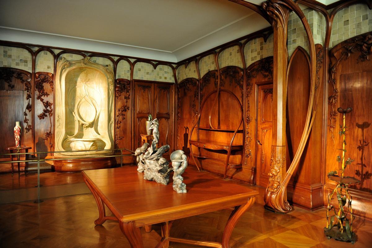 Stile liberty le sinuose architetture dell 39 europa di - Art nouveau mobili ...