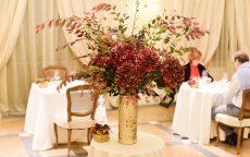 cena romantica villa necchi
