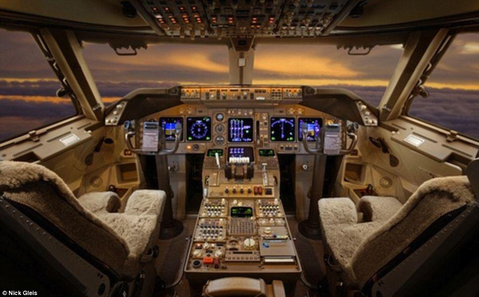 cabina jet di lusso