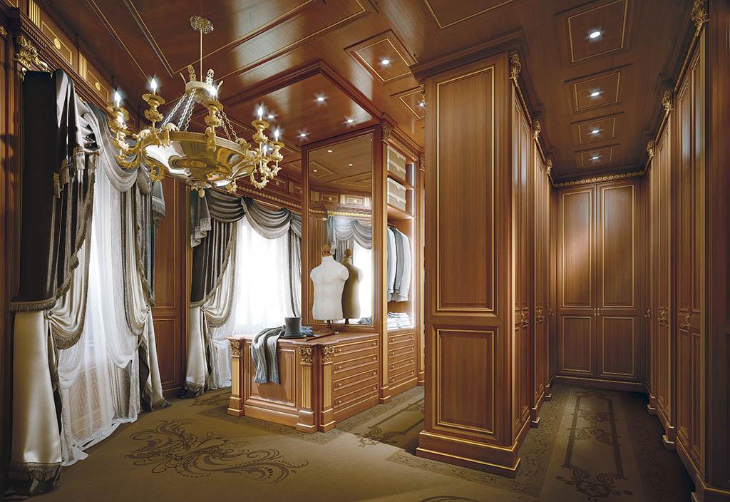 Cabine armadio di lusso consigli e ispirazioni for Design di cabine di lusso