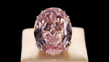 Diamante Pink Star, storia di un diamante rosa perfetto